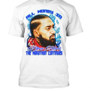 Nipsey Hussle All Money In Marathon Tee