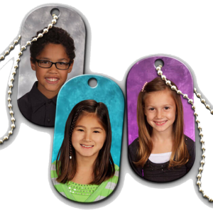 Dye Sublimation Picture Dog Tags